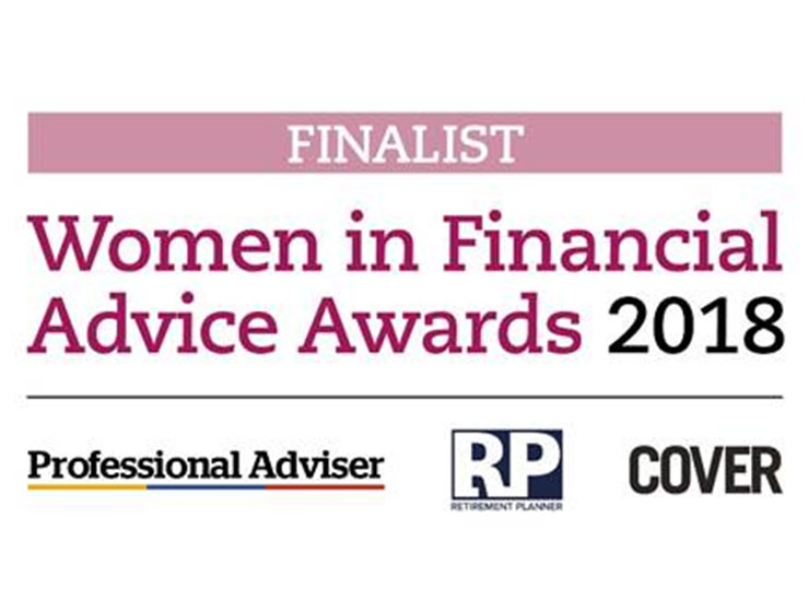 Award Nomination for Women in Financial Advice Awards