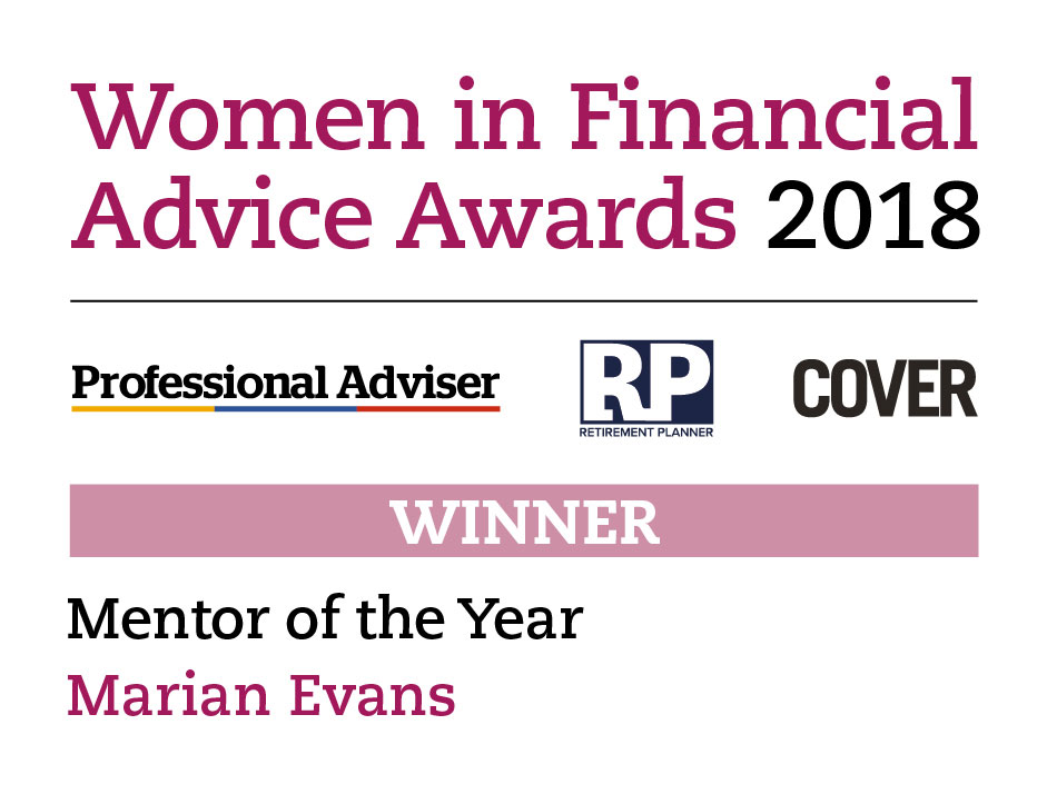 Marian Evans - Mentor of the Year